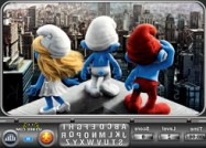 The Smurfs find the alphabets online