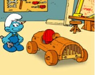 The Smurfs Handy's Car Hupik�k T�rpik�k j�t�kok
