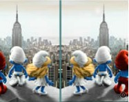 The Smurfs spot the difference online Hupik�k T�rpik�k j�t�k